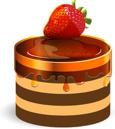 Sweet Strawberry Jam 03 Vector