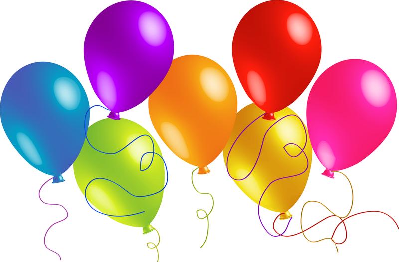 Bellamente globos de colores 01 vector Descargar vector