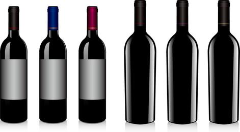Vector Vinho Tinto 2