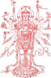 Avalokitesvara Vector