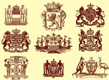 European Royal Vector Graphic
