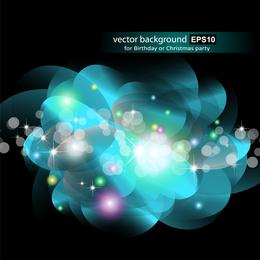 Lindo brilhante starlight efeitos 07 vector