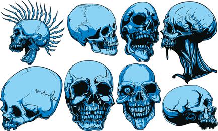 Skull Vector 3
