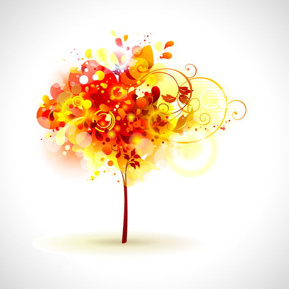 Brilliant Dynamic Elements Of The Trend 02 Vector