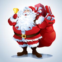 Santa Claus Vector Clip Art