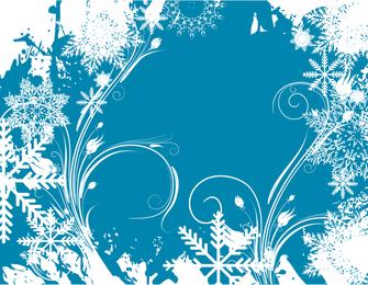 Free Vector Graphic Winter Swirls