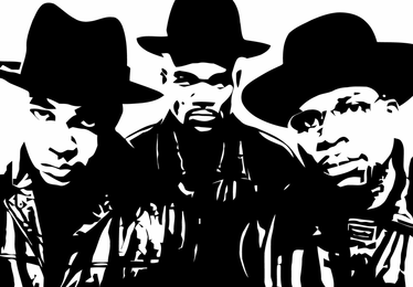 Run Dmc Illustration