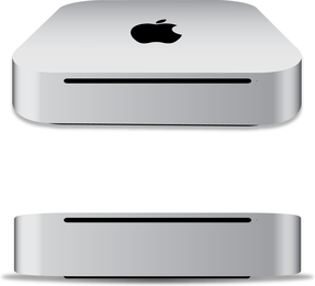 Apple Mac Mini 2011 Free Vector