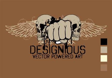 Free Vector T Shirt Design 3