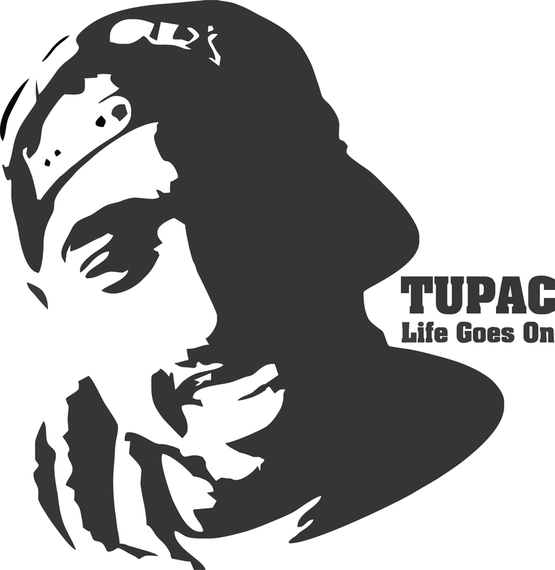 Tupac Shakur T Shirt Design Vector Vector Download