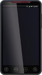 Vector de telefono android