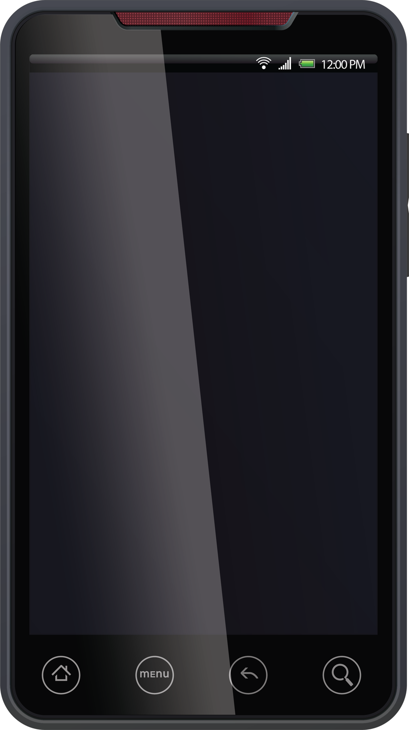 Android Phone Vector - Vector download