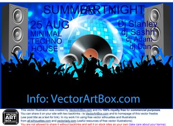 DJ Club Poster