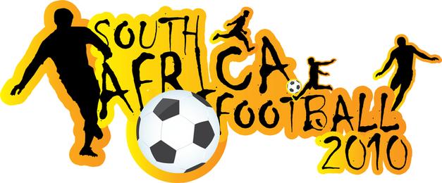 Sudáfrica, Fútbol, Copa Mundial de Fútbol 2010 Adobe Illustrator Ai Vector Formato Descargar