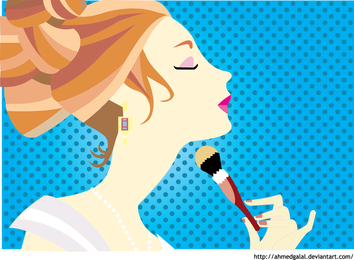 Livre Make Up Vector