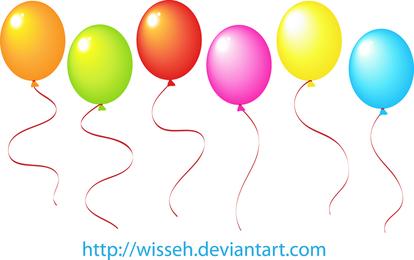 Vector Balloons 2