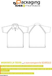 Modelo de camisa polo