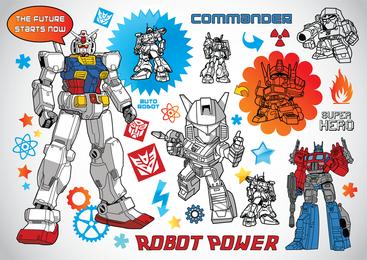Vectores de robot