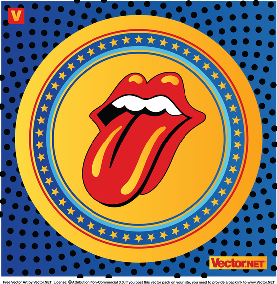 The Rolling Stones Logo  FAMOUS LOGOS