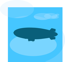 Vetor de dirigível