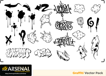 Free Dj Graffiti Vector Artwork
