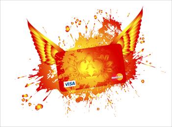 Diseño de tarjeta de crédito VISA
