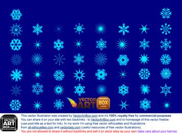 Winter Snowflake Set