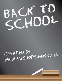 De volta ao projeto do sinal do quadro-negro da escola