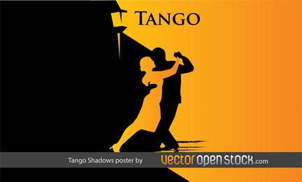 Cartel de las sombras del tango