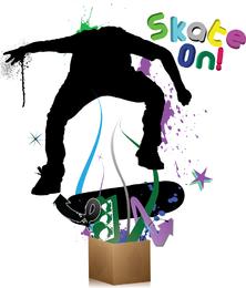 Skateon Vector