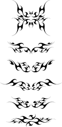 Vector Tribal Wings