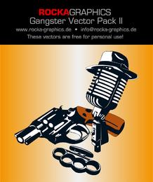 Pacote de design de gangster