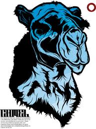 Camello azul