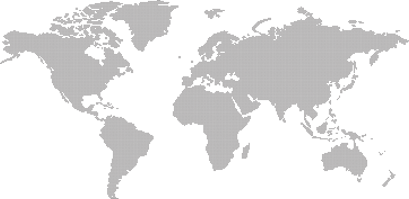 World map silhouette in gray vector download world map silhouette in gray gumiabroncs Gallery