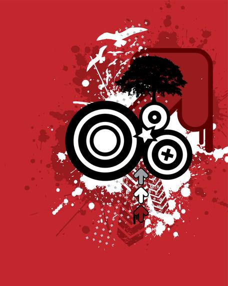 Abstract music logo design