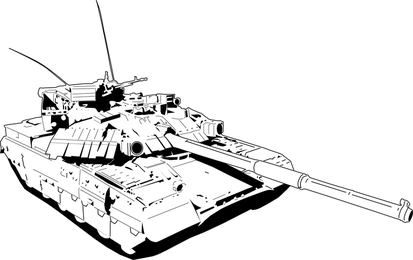 Military Vehicles In Vector Art
