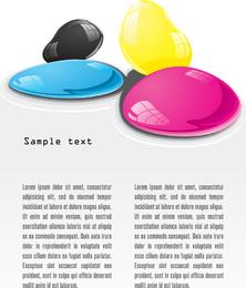 Cmyk Color 04 Vector