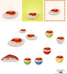Spaghetti Vector