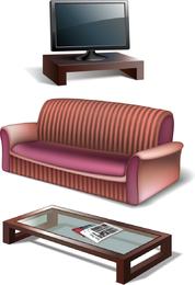 Furniture 03 Vector