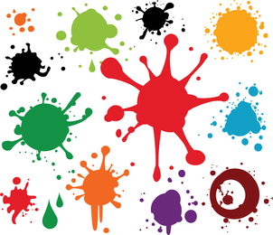 Paint Spray Vector