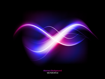 Colorful Dynamic Flow Line 01 Vector