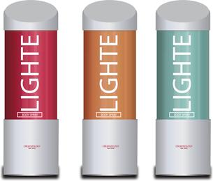 Free Vector Light Body Spray