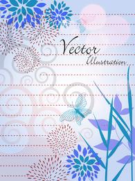 Vector Natural Ilustración Línea Draft 03 Vector