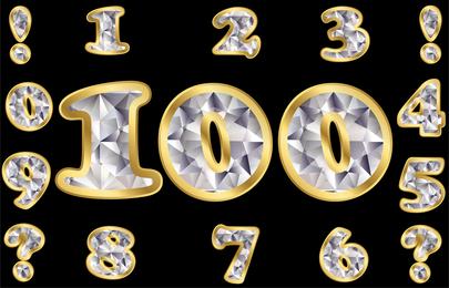 Diamant Digital 03 Vektor