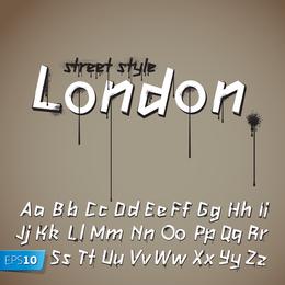 Vector de diseño de palabras lindo inglés 3