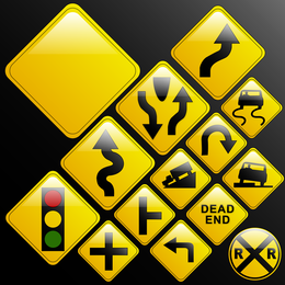 Traffic Signs Vector 2