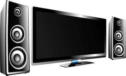 TV LED 06 Vector