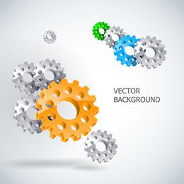 Gear Theme Vector
