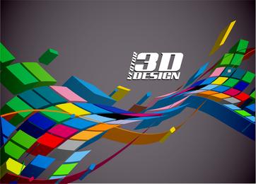 Dynamic Threedimensional Elements 02 Vector