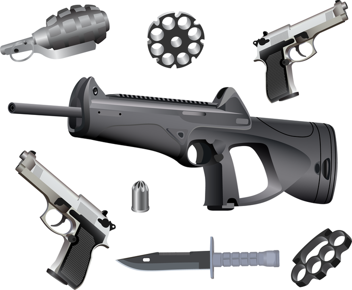 Armas de vetor e munições